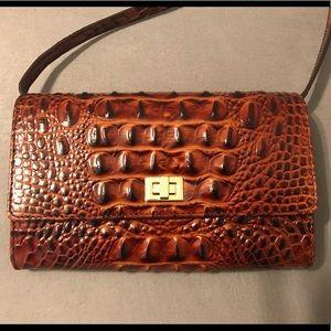 Brahmin Kennedy Leather Crossbody Bag